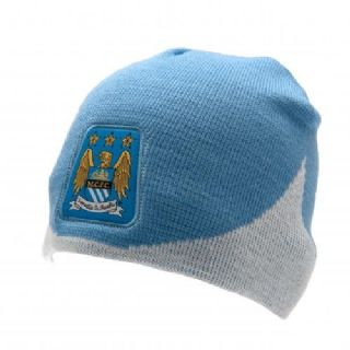 Manchester City FC Beanie Hat - official MCFC product ... 8583263d175